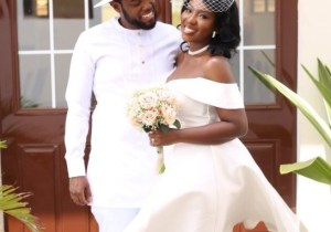 Lady marries the man she wooed on Twitter 4 years ago