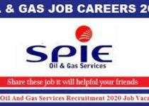 SPIE Oil & Gas Services Job Recruitment (4 Positions)