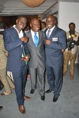 Cally Ikpe, Kenny Ogungbe and Ayo Animashaun