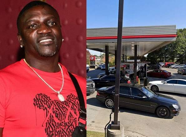 Akon's Range Rover Stolen As He Pumped Gas Into The Vehicle