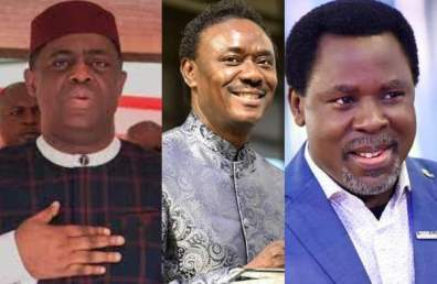 If Anyone Is A Wizard It Is You God Will Punish You FFK Slams Rev Chris Okotie For Insulting Late Prophet T.B Joshua