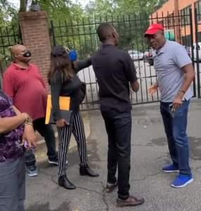 Nigerians Berate Official At Nigerian Embassy In Atlanta For His Conduct When They Arrived To Renew Their Passports