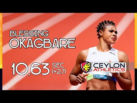 Blessing Okagbare Becomes Second Fastest Woman In The World (Gisttree.Com)