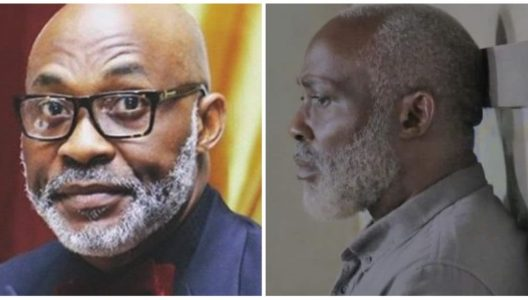 For The First Time In A Long While, I Find Nothing To Be Cheerful About Actor Richard Mofe Damijo