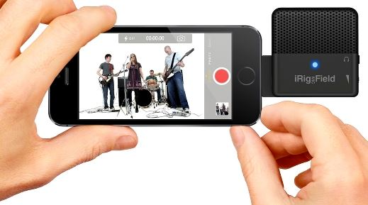 The first ultra-compact audio/video stereo field mic for iPhone, iPad and iPod touch
