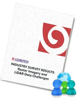 LizardTech Publishes Industry Survey Results on Raster Imagery and LiDAR Data Challenges