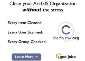 clean my org for arcgis