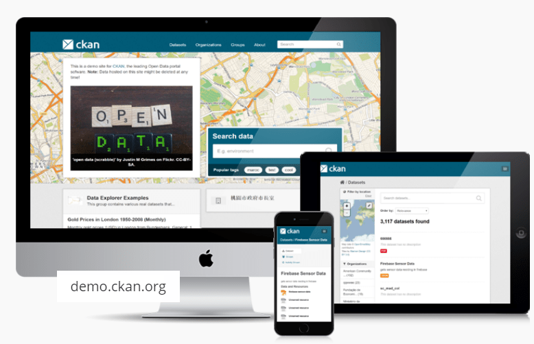 OpenData Tip - CKAN Open Source data portal platform