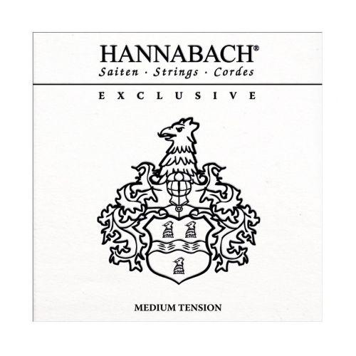 Hannabach EXCLMT Medium tension Classical Guitar 6 string