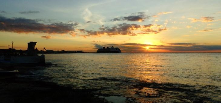 Caribbean Sunset @Cozumel, Mexico