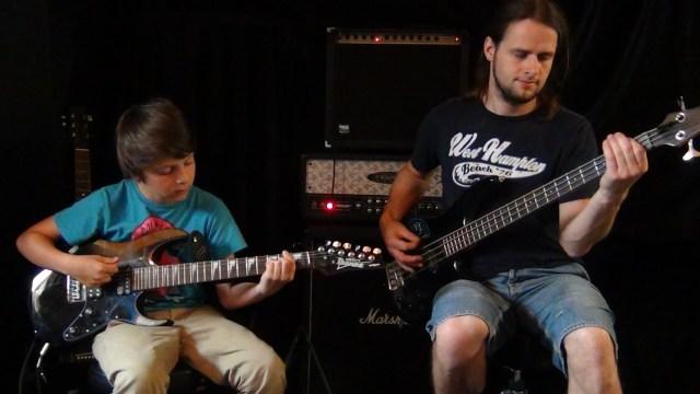 Gitarrenunterricht Ravensburg Markdorf Zusammenspiel E-Bass E-Gitarre