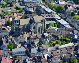 ville de saint yrieix vue aérienne