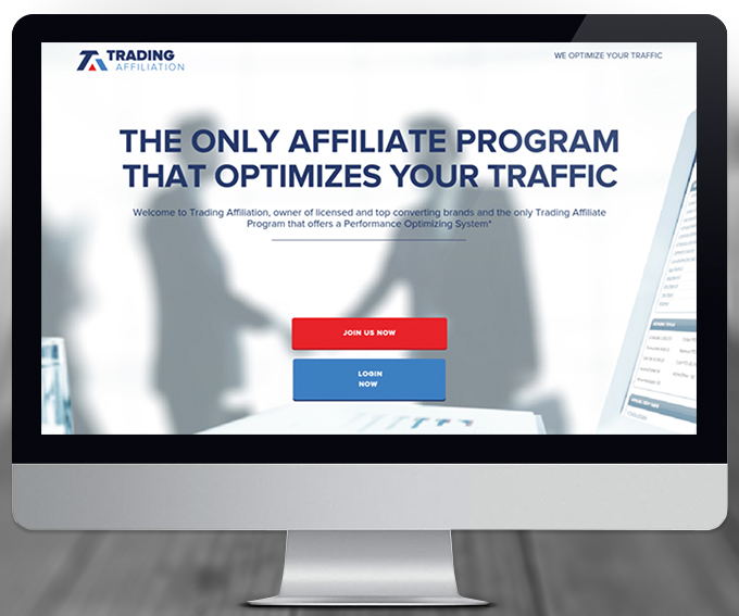 Trading Affiliation website