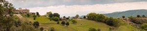 Photo du Domaine Rouretord vu depuis l'ouest, Ardèche, France