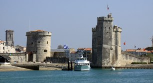 Les tours du vieux port de La Rochelle