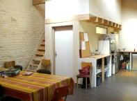 L'espace cuisine/studio de l'association En Avant Première