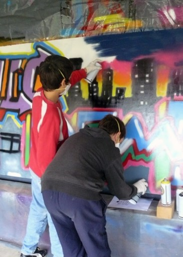 Ateliers et stages de graff