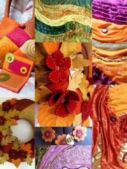 Les créations textiles de Frédérique