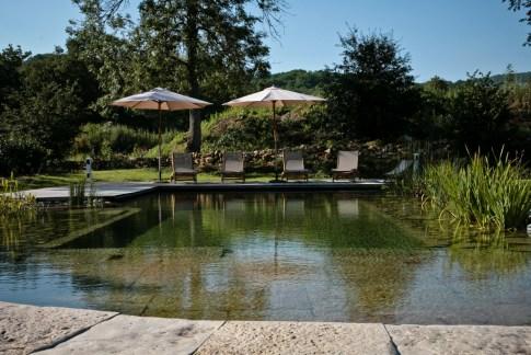 La piscine naturelle du Hameau du Quercy