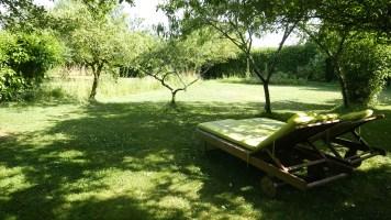 Le jardin pour un instant de repos
