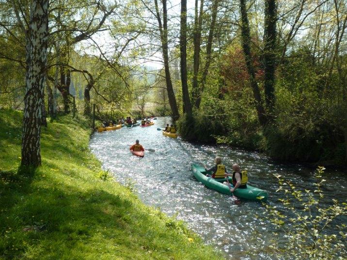 L'activité de canoë-kayak, très prisé des vacanciers