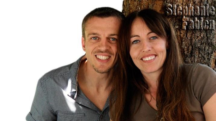 Les propriétaires Fabien et Stéphanie