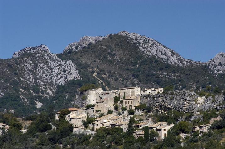 Vercoiran, un village atypique de la Drôme