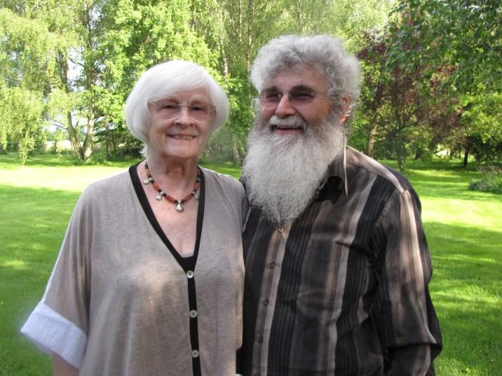 Christiane et Christian son mari