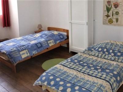 Chambre 2 lits Les Lucioles