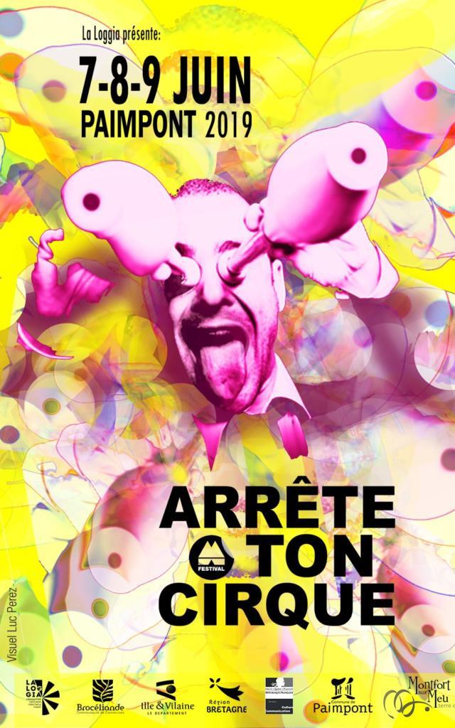 Festival Arrête Ton Cirque 2019 Paimpont