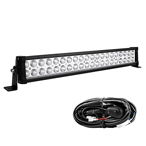 LED Light Bar YITAMOTOR 24 Inch Light Bar Offroad Spot