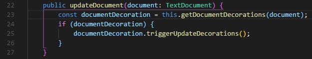 VS Code bracket pair colorizer Screenshot