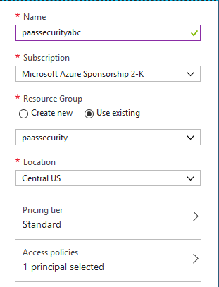 In the Dialog box, fields are set to the previously defined settings.