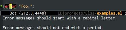 {focus_keyword} emacs-elsa/Elsa formatting 1