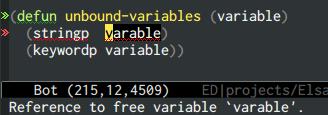 {focus_keyword} emacs-elsa/Elsa unbound variable 1