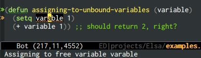 {focus_keyword} emacs-elsa/Elsa unbound variable 2