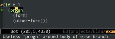 {focus_keyword} emacs-elsa/Elsa useless code 1