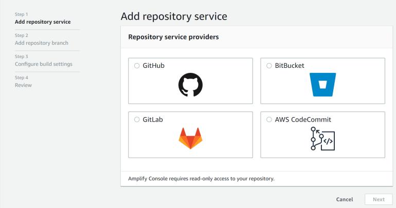 Add Repository Service