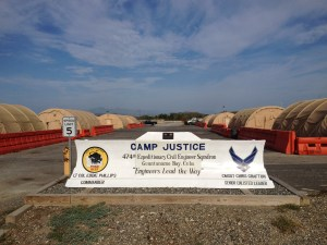 Camp Justice Entrance