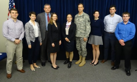 General Martins center) and NGO representatives at GTMO. January 2015