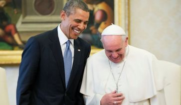 President Obama and Pope Francis, 2014