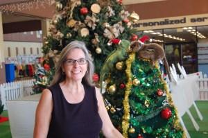 Professor Catherine Lemmer at Guantanamo Bay, Cuba