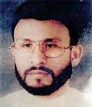 Abu Zubaydah - Eye patch -- lighter - facing left