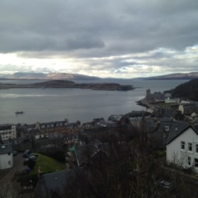 Oban from on high