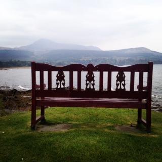 Isle of Arran bench