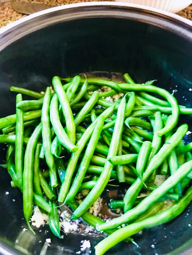 Easy Green Beans Heating Green Beans
