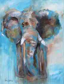 Big Blue Elephant