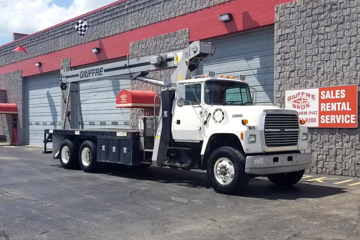 hight resolution of terex tc2863 on 1996 ford l8000 front passenger side