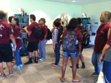 Punahou's Pueo Program checking out our new display