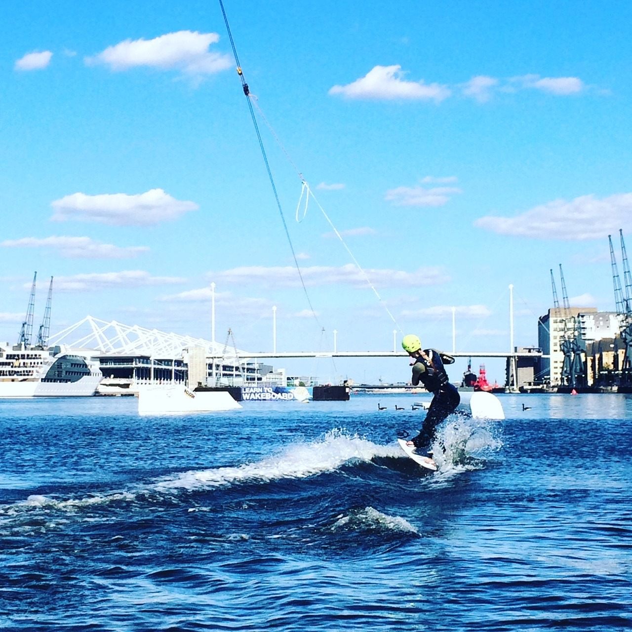 Wakeboarding in London